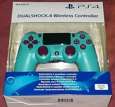 Genuine Official SONY DualShock 4 V2 Controller - Berry Blue NEW UK - Very RARE