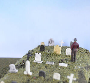 Steam Era Tombstones/Cemetary O scale
