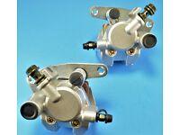 Front Brake Caliper for SUZUKI LTF250 LTF400 LTA400 LTA500 LTZ250 LTZ400 w//Pads