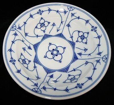 Kronester Porzellan Indisch Blau Strohblume Suppenteller Teller