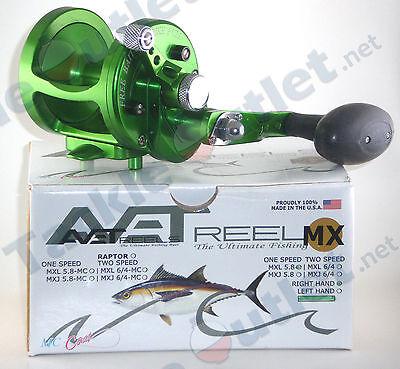 Avet MXL5.8 Green Lever Drag Conventional Reel