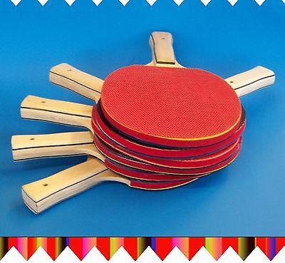 ►►6x Tischtennis-Schläger METEOR ►►die Qualitäts-Tischtennisschläger aus China