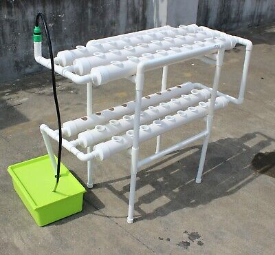 Vertical Hydroponic Planting System for Growing 54  Plants Salads Herbs Flowers  ()