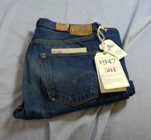 Levis Vintage Classic LVC 501xx 1947 Cone Denim Jeans Selvedge Red Tab SEE SIZES