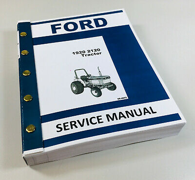 Ford New Holland 1920 2120 Tractor Service Repair Manual Technical Shop Book