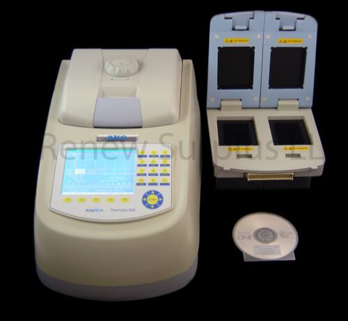 Ampicon Biotech ThermoEX 500 Thermal Cycler PCR w/Blocks D & G + Software Disc
