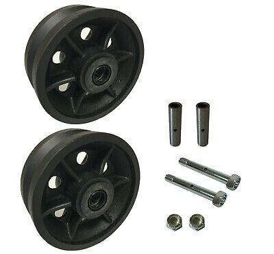 2 Caster Wheels Set 4 5 6 8 V-groove Wheel Set With Bearing Kit