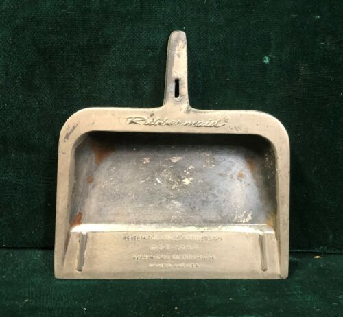 Vintage Rubbermaid 25th Anniversary Dust Pan Ash Tray