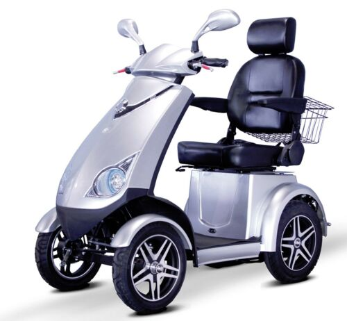 Silver Ewheels Ew-72 Fast Hd 4 Wheel Mobility Scooter, Goes Up To 15 Mph, 500 Lb