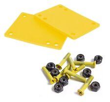 """Cal 7 Truck 1/8"""" Skateboard Riser Pads Rubber Yellow ..."""