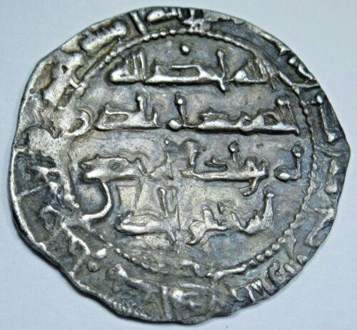Ancient Islam Spain 800-900 AD Umayyads Large Silver Dirham Antique Genuine Coin