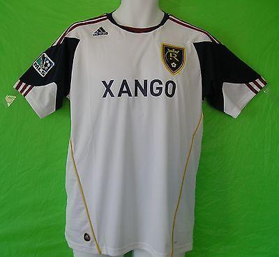 2d2416478c4 nwt~Adidas REAL SALT LAKE MLS USA Football Soccer Jersey Shirt Top~Mens Size  Lrg