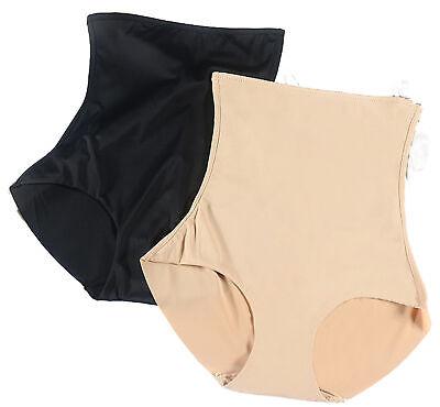 1 - 3 Damen Shapewear Slips hocher Bund Miederhose bauchweg Taillen Vakuumbeutel