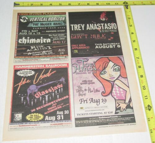 Tori Amos Concert AD Advert 2005 Original Sinsuality Tour PNC Arts Center NJ