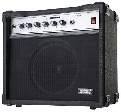 Amplificador Guitarra Electrica Guitar Amp 2 Canales Altavoz 8