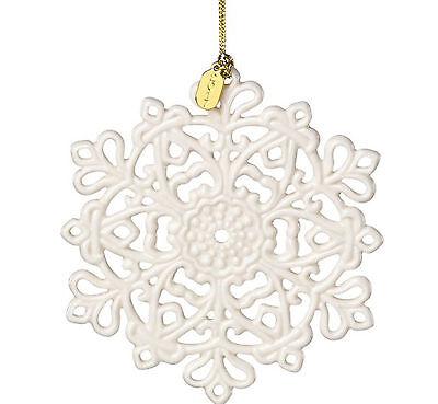 Lenox 2017 Snow Fantasies Snowflake Ornament