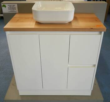 New Messmate Timber Bathroom Vanity Bench Tops Various Sizes