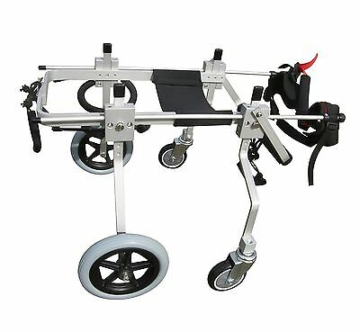 QUAD FULL SUPPORT FOUR 4 WHEEL BEST FRIEND MOBILITY DOG WHEELCHAIR