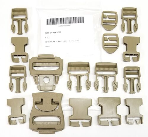 ITW Fastex ILBE Molle Repair Buckles Kit 16 Piece Set NSN Military