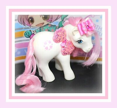 ❤️My Little Pony MLP G1 Vintage Megan's SUNDANCE Original White Pink Heart❤️](Sundance My Little Pony)