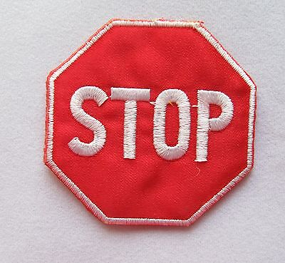 Embroidery Sign - #2346 Traffic Sign