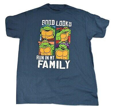 Teenage Mutant Ninja Turtles Mens Good Run In My Family Shirt New L, 3XL](Ninja Turtle Family)