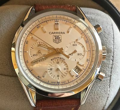 Tag Heuer Carrera Chronograph Automatic Men's Watch CV2110-0    GR0497