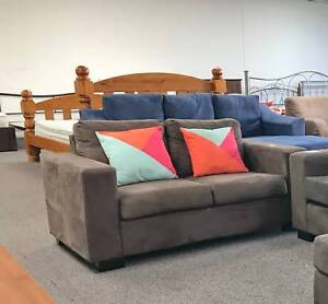 TODAY DELIVERY COMFORTABLE MODERN 2 seater sofa lounge Belmont Belmont Area Preview