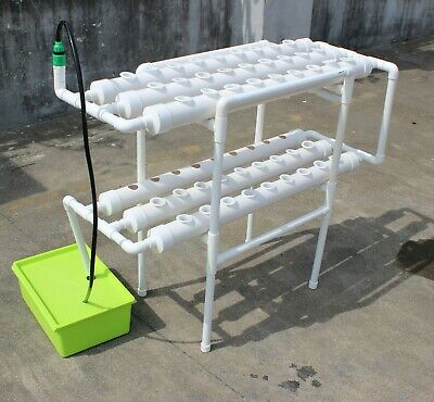 Vertical Organic Grow 72 Plant System Salads, Herbs Hydroponic Tasty Foods Herb ()