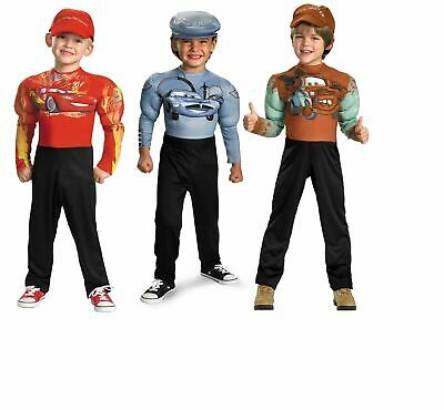Cars Movie Halloween Costumes (Tow Mater Light McQueen Muscle Disney Cars Movie Halloween Toddler Child)