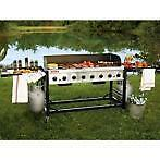 Commercial Grade Portable Propane Gas Big Event BBQ Grill - FREE SHIPPING