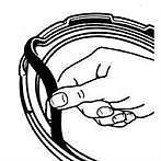 Presto Pressure cooker Sealing Ring 09901