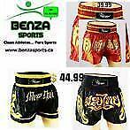Muay Thai Shorts, Thai Boxing Shorts, Thai Shorts, Kickboxing Shorts ONLY @ BENZA SPORTS