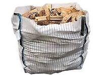 Firewood £84 Kiln Dried Hardwood Bulk Bag No more damp wood or big bits that won't fit the fire