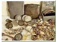 Wanted gold silver jewellery watches coins antiques medals collectables