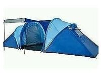PRO ACTION 6 Man 2 ROOM TENT- Blue