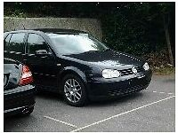 golf gttdi black 2001 6speed alloys vgc 11 months mot