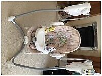 Graco soothing vibration swing in good condition