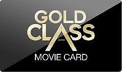 $100 Events gold class Gift card