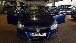 Vauxhall Astra, 2005 (55) Blue Hatchback,