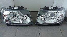 OEM Left hand drive headlights headlamps Europe type Landrover Freelander II 2006 - 2014 LHD EU MOT
