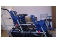 Joovey caboose 3 seater pushchair