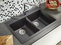 Blanco Silgranit Double Basin Sink