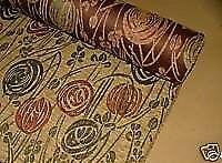 22 Meters Chenille Velour Rennie Mackintosh Fabric