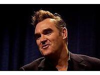 Morrissey tickets x2 Saturday 7th July