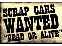 Scrap cars wanted vans 4x4