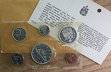 1965 silver coin set in original packaging from RCM!! only 35$.. London Ontario image 1