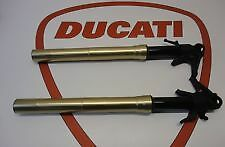 DUCATI 1199 PANIGALE FRONT FORKS SHOCKS SUSPENSION NO DAMAGE 899