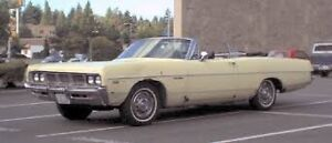 Wanted: PARTS CAR Dodge Plymouth Convertible
