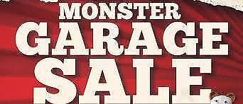 Monster Garage Sale - Eltham - Saturday, 2nd December 2017